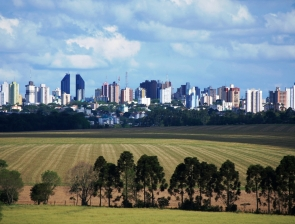 Vista de Cascavel, a Capital do Oeste do Paraná.